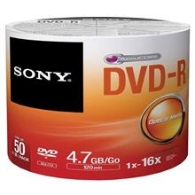 SONY DVD-R Pack of 50